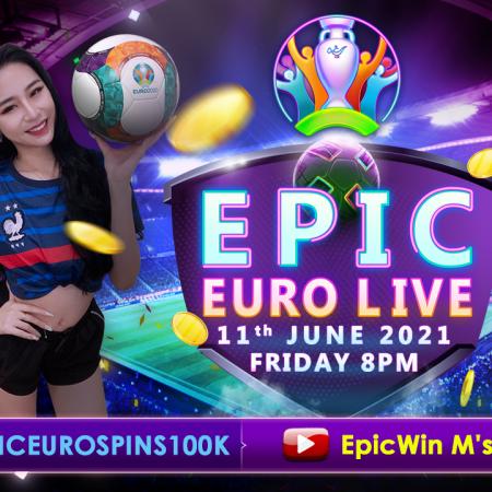 11.06.2021 Epic Euro Live Main Banner